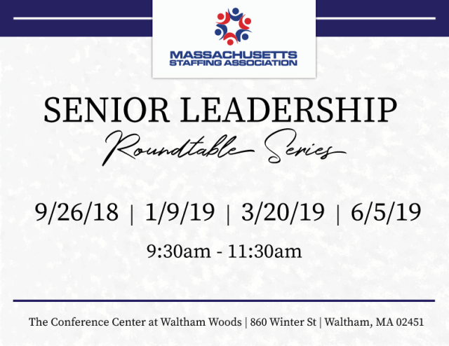 SENIOR LEADERSHIP ROUNDTABLE SERIES